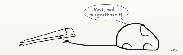 Cartoon Elektroauto an der Ladestation